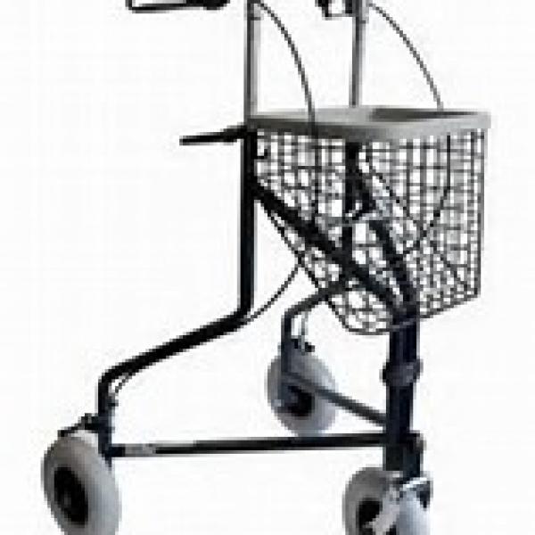 Déambulateur ou rollator 3 roues= DELTA de Invacare